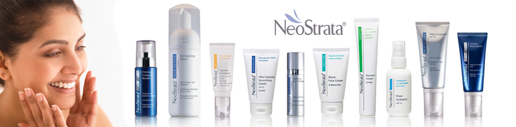 Our Neostrata range of skincare products