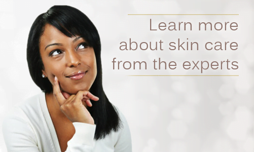 Learn more about skin care and looking after darker skin from the experts